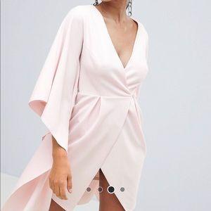 ASOS Crepe kimono sleeve mini dress